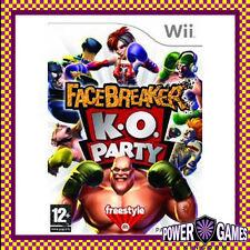 Facebreaker KO Party (Nintendo Wii) Brand New