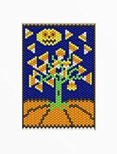 Magic Pumpkin Beaded Banner Pattern