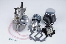 Power intake 28mm PWK Carburetor for Yamaha BWS 100cc YW100 Beewee 100