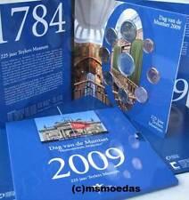 Niederlande Off. Euro Kursmünzensatz KMS 2009 Dag van de Munt Set 1 Cent bis 2 €