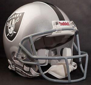 JERRY RICE Edition OAKLAND RAIDERS Riddell AUTHENTIC Football Helmet