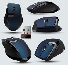 2.4GHz Blue Tech Rapoo 3200 Ergonomic Usb Wireless Cordless Optical Gaming Mouse