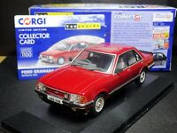 EXTREMELY RARE 1/43 VANGUARDS FORD GRANADA MK2 2.8 GHIA IMPERIAL RED  CERT 0054