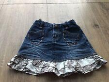 ✿Pampolina ✿ Baby Kinder Rock M��dchen Gr104 Jeansrock zuckersüß Minirock