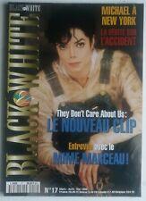 MICHAEL JACKSON   MAGAZINE  BLACK & WHITE  N°17 avec posters  1996