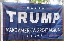 Trump Make America Great Again Blue 3X5 Flag president 2016 Red Usa $ Us again!