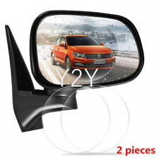 2Pcs Universal Car Rear View Mirror Anti Fog Rainproof Protective Film Sticker