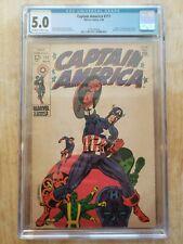 Marvel Comics Captain America 111 CGC 5.0 Steranko cover