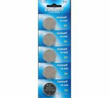 5 x Eunicell CR2430 3V Lithium Coin Battery DL2430 K2430L ECR2430