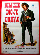 DIRTY LITTLE BILLY KID '72 MICHAEL POLLARD LEE PURCELL DRAGOTI EXYU MOVIE POSTER