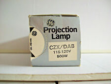 CZX - DAB Projector Projection Lamp Bulb  500W  115-120V GE  *AVG 25-HOUR LAMP*