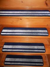 1 = Step 7.1/2'' x 30'' Wool RUG CARPET Andy's Collection Stair Treads   .