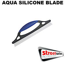 SHOWER BATH SAUNA HOT TUBE SQUEEGEE WINDOW LARGE SILICONE CLEANING WATER BLADE