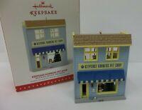 Hallmark Keepsake Christmas Ornament Nostalgic Series Keepsake Korner Pet Shop