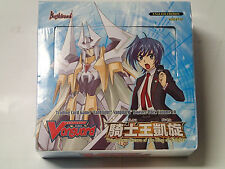 Cardfight! Vanguard CCG BT10 Return King of Knights Sealed English Booster box