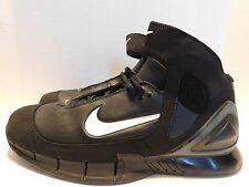 Nike Air Zoom Huarache 2K5 SZ 13 BLACK WHITE 310850-013 2005 Kobe Mamba FTB