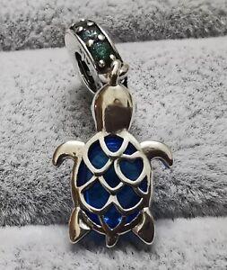 Pandora 798939C01 Meeresschildkröte Murano-Glas Charm-Anhänger S925 ALE