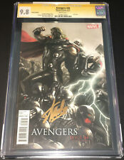 AVENGERS #44 CGC 9.8 SS GOLD SIGNED BY STAN LEE 1:25 LIMITED VARIANT ULTRON THOR