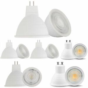 10Pcs GU10 MR16 COB LED Spotlight 5W Bulb Light Replace 50W Halogen Lamps SS469