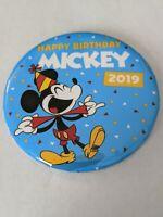 Mickey's 90th Birthday 2019 WDW Disney Parks Celebration Button