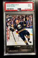 JACK EICHEL - 2015 UPPER DECK #451 YG - PSA 9 - RC UD YOUNG GUNS ROOKIE SABRES