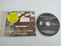 NACHO CANO Musica para Eins Hochzeit - Single CD Slim - 1 Cancion 2004