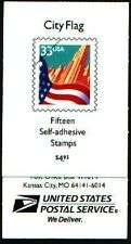 3278b Bk275 3278a-3278c City Flag Booklet sealed in plastic from Usps Mint Nh
