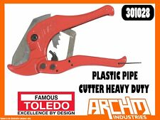TOLEDO 301028 - PLASTIC PIPE CUTTER HEAVY DUTY - HEATER AIRLINE HOSES PVC VACUUM