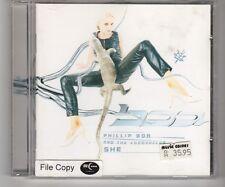 (HJ985) Phillip Boa & The Voodooclub, She - 1996 CD