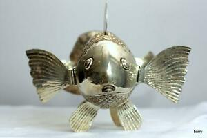 Articulated Silver GoldFish   fish  #02