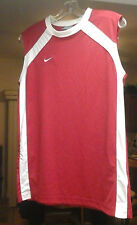 Nike Youth Xl Red And White Tank