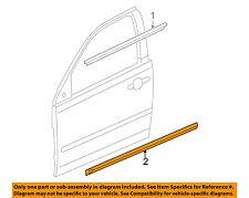 Chevrolet GM OEM 05-10 Cobalt FRONT DOOR-Body Side Molding Right 15255196