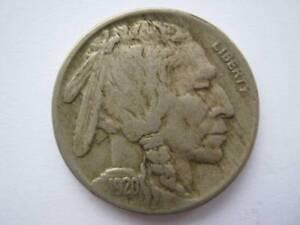 United States 1920 Buffalo Nickel 5 Cents GF