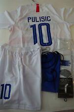 USA C Pulisic Kids Jersey Kit Age 5-13 Yrs Shirt, short, socks, soccer bag & Key