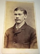 Rare Antique Philadelphia College of Pharmacy Mason Perry! PA Medical CDV Photo!