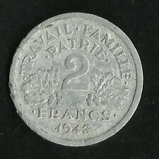 2 Francs Alu Bazor 1943 B TTB