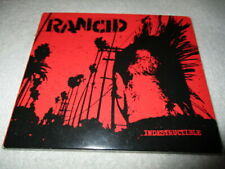 "RANCID     ""Indestructible"" digipak CD     Hellcat Records     Punk"