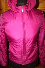 Oasis Size 10 / 36 Pink Jacket Pink, Fleece lined hood, zip fastening, pockets