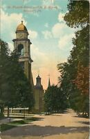 Newport PA~Afternoon @ United Methodist Episcopal Church~1915 Postcard