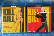 Pack Kill Bill en blu ray. Volumen 1 y 2 // Oferta en envíos. Leer descripción