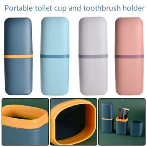 Travel Camping Toothpaste Case Cover Holder Toothbrush Box Storage Tool Portable