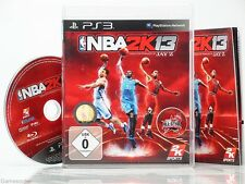 NBA 2K13 / 2013 (BASKETBALL)  - dt. Version - °Playstation 3 Spiel°