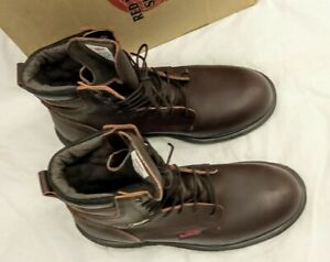 Red Wing Shoes Leather Boot Waterproof Gore-Tex Insulated 1412 Men Size 10 D NEW