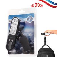 110 lb/50kg Portable Digital Hanging Luggage Scale Travel Luggage Scale USA