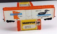 Mantua Tyco 711-32 Minnesota 50' State Commemorative Box Car MMP HO Scale