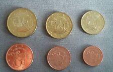Mini serie 6 valori FDC Cipro 2010 1 cent - 50 cent