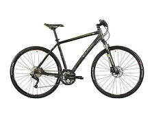 Cube Nature Pro, black grey green - Fitnessbike