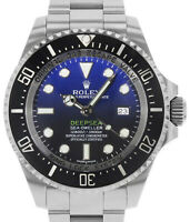 Rolex Cameron Deepsea Sea-Dweller D-Blue Steel Ceramic Watch Box/Card116660