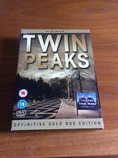 Twin Peaks Definitive Gold Box Edition (DVD, 2010, 10-Disc Set, Box Set)