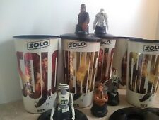 Solo A Star Wars Story Movie Theater Exclusive Cups & Toppers - Set of 5